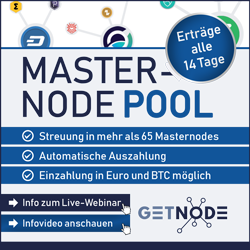 Getnode Masternode Investments